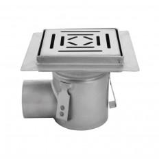 Duschablauf Burano einteilig 150x150 aus Edelstahl