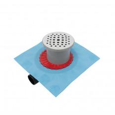 Duschablauf PALMARIA-R3, Ablauf waagrecht DA 50mm, drehbar