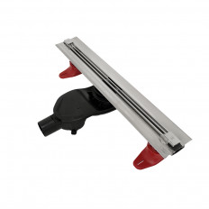 Duschrinne-VIVARA0600, Ablauf waagrecht DA 50mm, drehbar