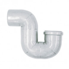 Abflussrohr-Siphon 87,5° aus Edelstahl