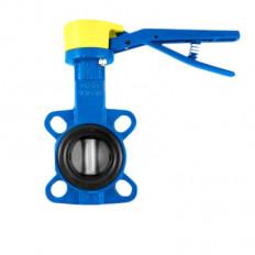 Absperrklappe-Gas mit Edelstahlscheibe, DVGW