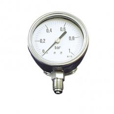 Edelstahlmanometer Ø 100 mm