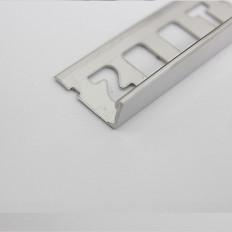 Fliesenschiene Abschlussprofil Edelstahl 3D-poliert 1,66m