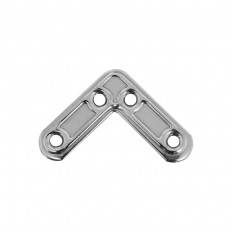 Winkel flach 60x60 mm