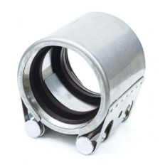 Rohrkupplung FLEX Eco, Verschluß und Gehäuse Edelstahl V2A