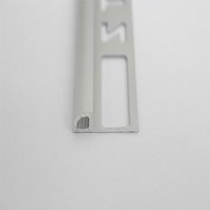 Fliesenschiene Aussenrundung Alu Silber eloxiert 2,5m