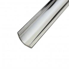 Fliesenschiene Inliner Edelstahl K220-geschliffen 3m