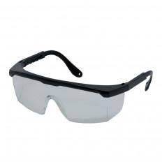 Schutzbrille mit versellbarer Bügellänge