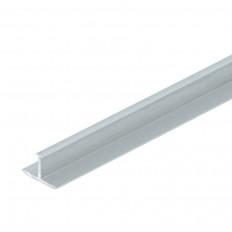 Fliesenschiene T-Profil Alu eloxiert 25mm 2,5m