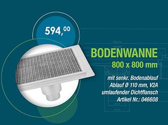 Bodenwanne 800x800